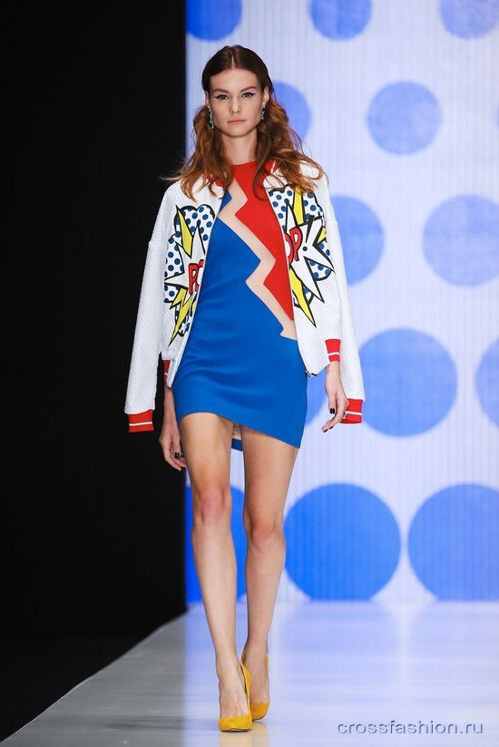 Crossfashion Group - Неделя моды в Москве октябрь 2015  Dasha Gauser ... 77fdd4a3aa3