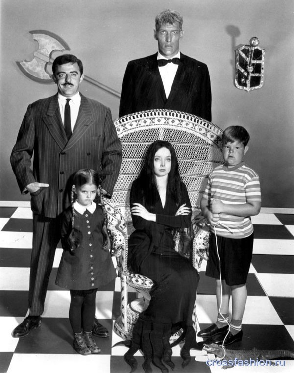Addams Family main cast 1964