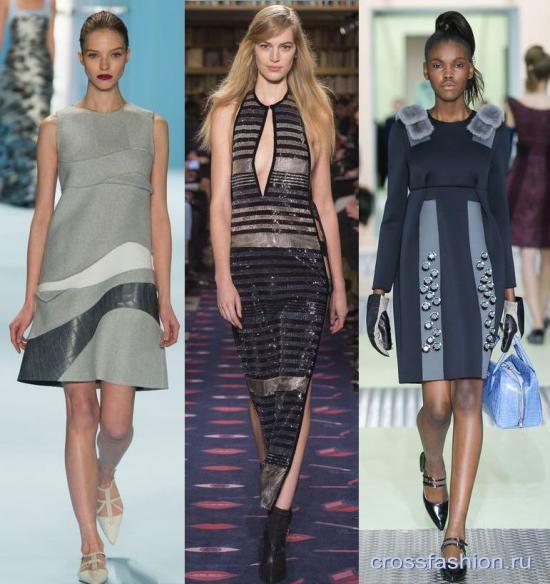 dfc41531d63 Crossfashion Group - Модные платья осень-зима 2015-2016  обзор ...