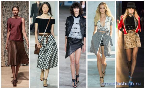 0e950a896982 Crossfashion Group - Юбки весна-лето 2015  трендовые фасоны, модные ...