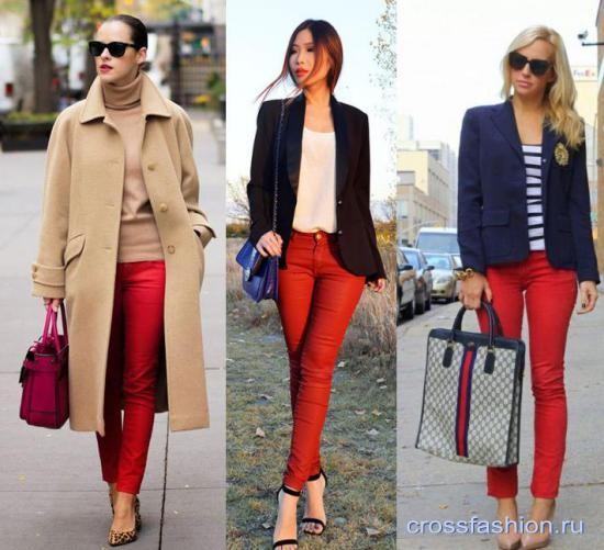 88d8a2b1533 Crossfashion Group - Красные джинсы  кому