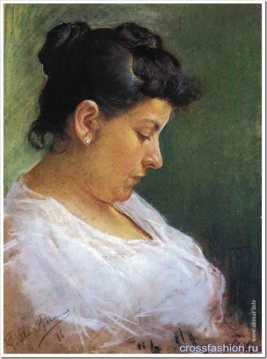 001 portrait-of-the-artist-s-mother-1896 thumb