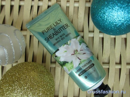 E Choice Pure Lily & Shea butter Hand Cream