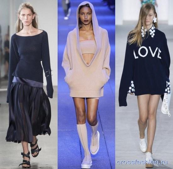 Crossfashion Group модные вязаные и трикотажные вещи весна лето