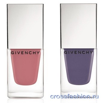 Лак-для-ногтей-Givenchy-Le-Vernis 09-Rose-dException-и-10-Lilas-dException
