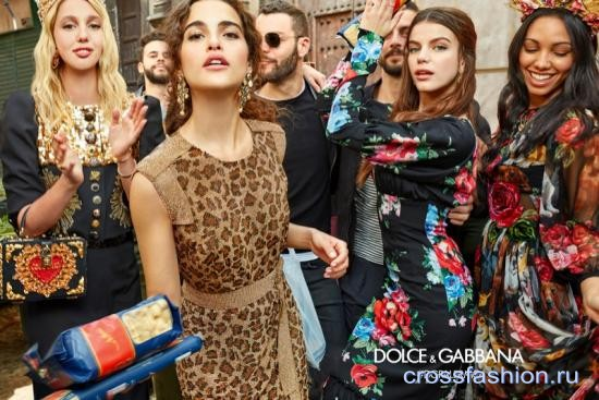 a6fbcb4a258 Crossfashion Group - Dolce Gabbana рекламная кампания осенне-зимней ...