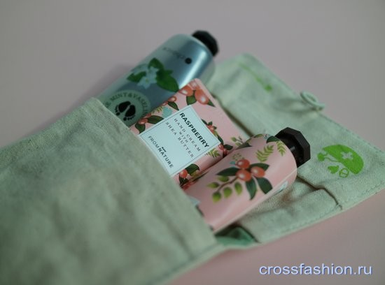 Raspberry hand cream with shea butter и Mint&vaseline softening foot cream