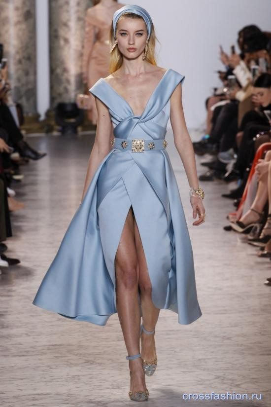 Elie Saab Couture весна-лето 2017: Неделя высокой моды в Париже, январь 2017