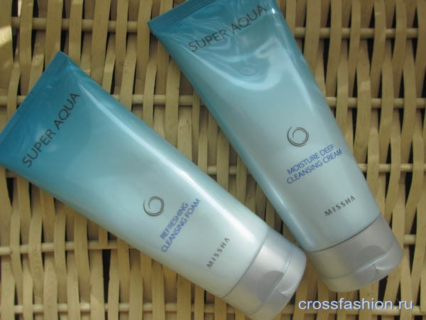 Missha Super Aqua Moisture Deep Cleansing Cream