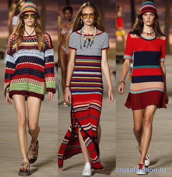 Crossfashion Group модное вязание крючком весна лето 2016 примеры