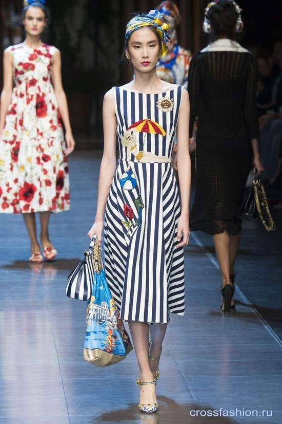 132bd2a0bc3 Crossfashion Group - Dolce Gabbana коллекция весна-лето 2016