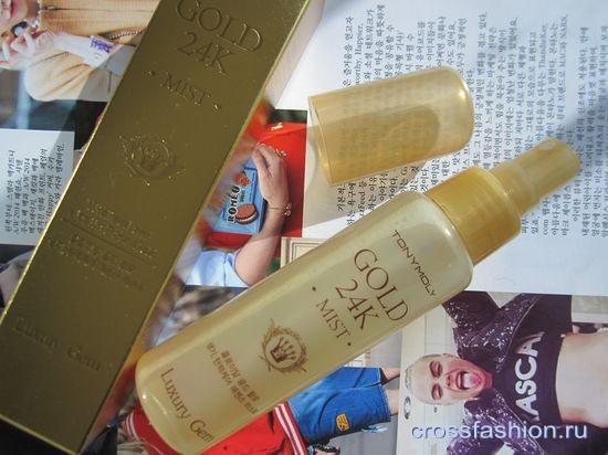 Luxury Gem Gold 24 Mist Tony Moly