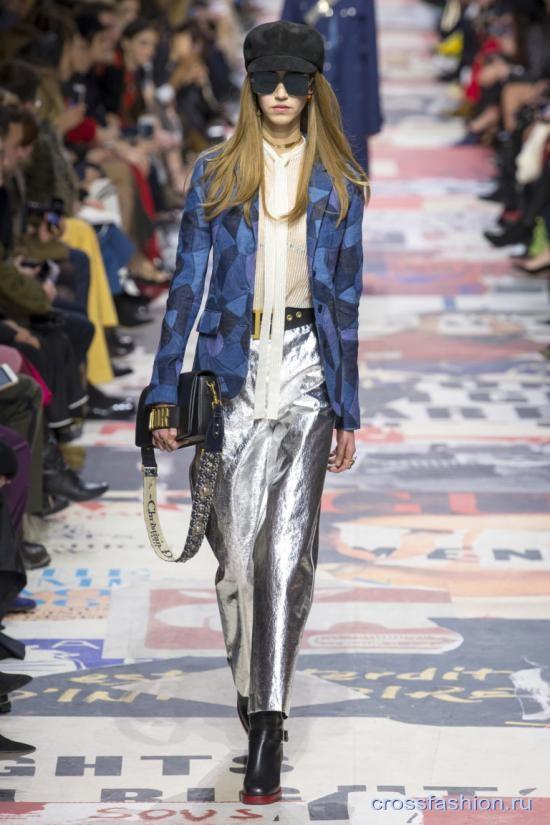 2933e503dec3 Crossfashion Group - Christian Dior коллекция осень-зима 2018-2019