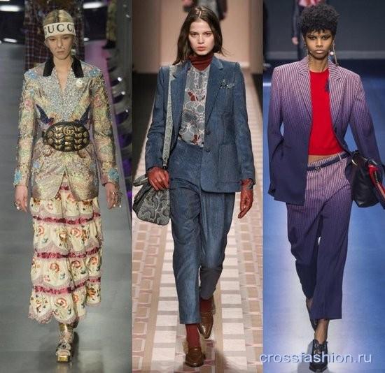 272e91240cc4 Модные жакеты и женские пиджаки осень-зима 2017-2018  актуальные модели и  сочетания