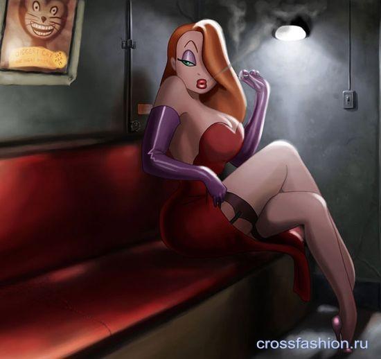 Сексуальная jessica rabbit